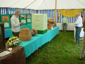 The DBKA Tent at The County Show